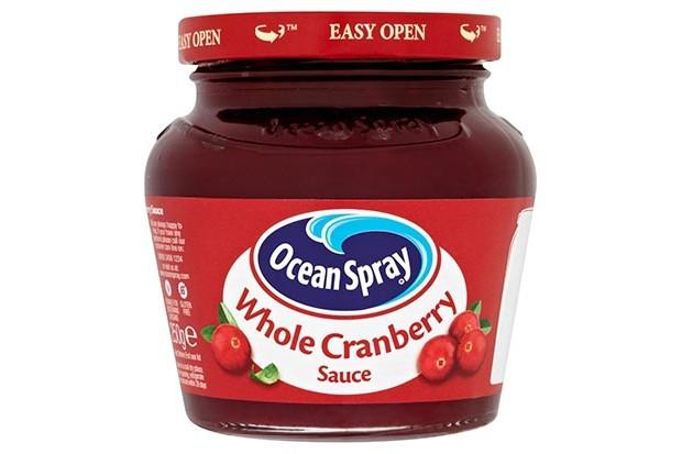 Ocean Spray whole cranberry sauce