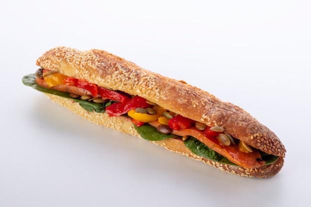 PAUL 'Tis the Vegan Christmas sandwich