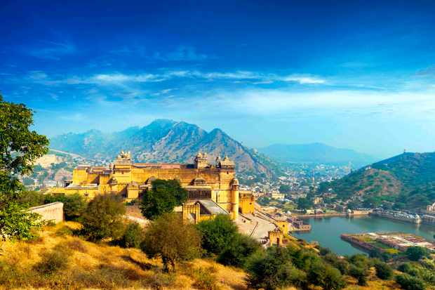 Aerial image of Rajasthan