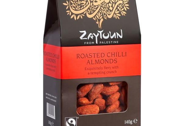 Zaytoun roasted chilli almonds