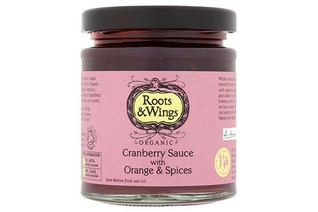 Roots and wings cranberry sauce