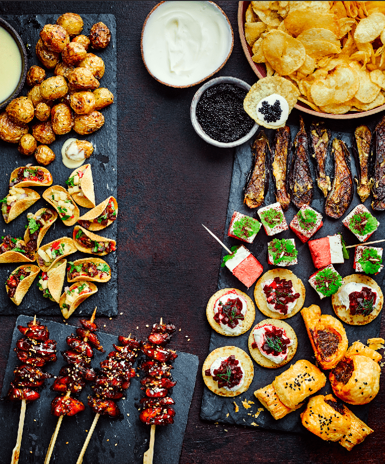 Quick and Easy Canapés Recipes