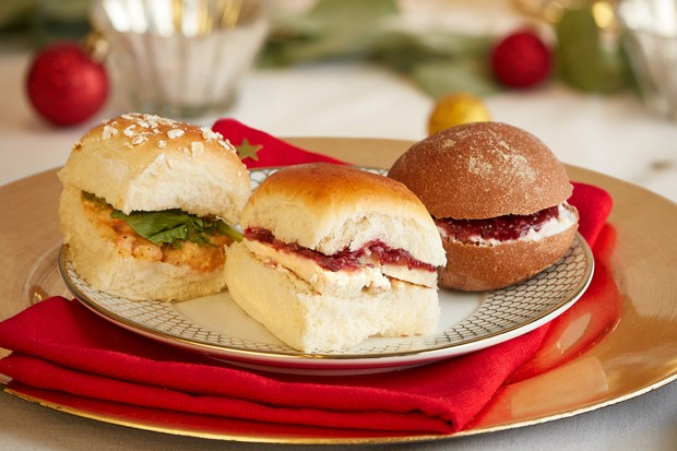 Tesco Finest Festive Feast Trio Christmas sandwich