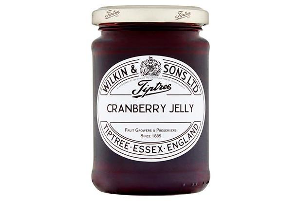 Tiptree cranberry jelly