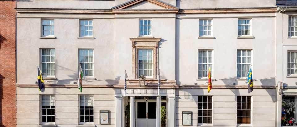 The Angel Hotel, Abergavenny: Hotel Review