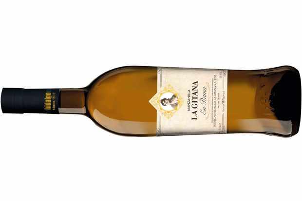La Gitana Manzanilla sherry bottle