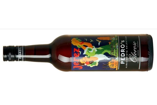 Jerez Sherry bottle