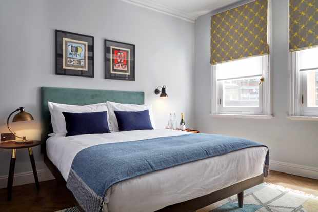Bedrooms at The Coach in Clerkenwell