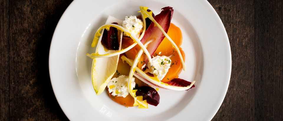 Salad at The Falcon, Buntingford