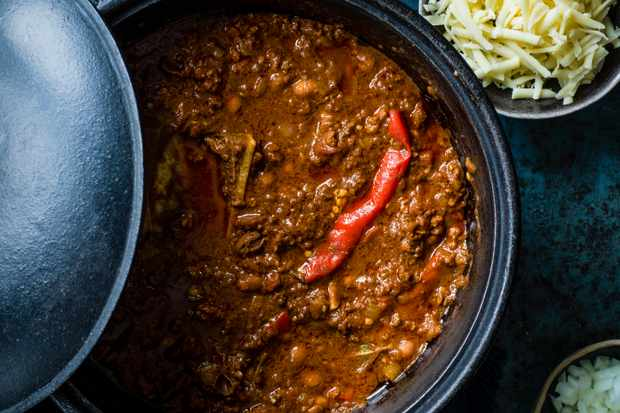 Chilli Recipe with Bone Marrow