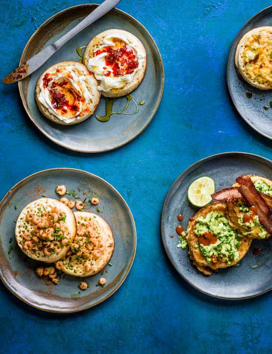Crumpet Topping Recipes