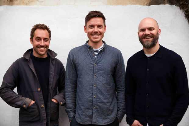 Levan Peckham Owners Nicholas Balfe, Mark Gurney and Matt Bushnell