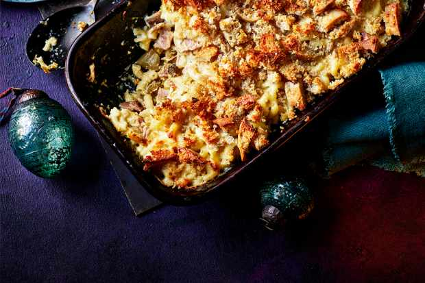 Mac and Cheese with Ham Recipe