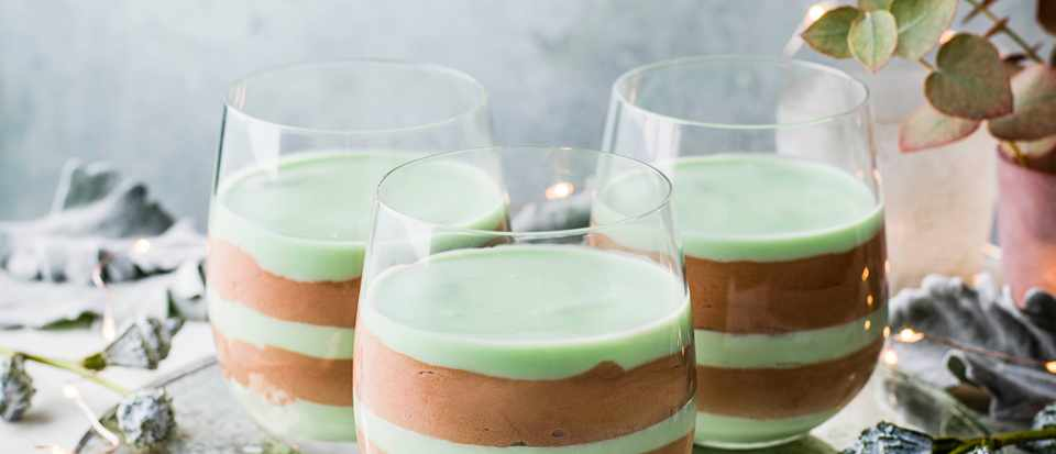 Chocolate Mousse Recipe with Peppermint