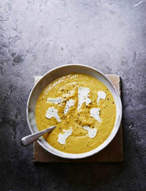 Spicy Cauliflower Soup Recipe