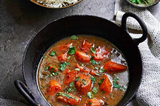Sri Lankan Curry Recipe with Carrot