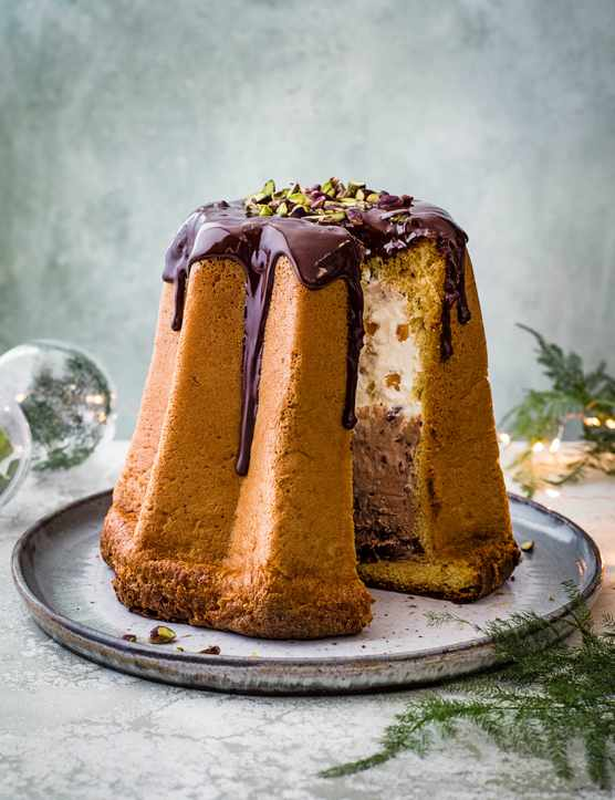 Chocolate Pistachio Semifreddo Recipe