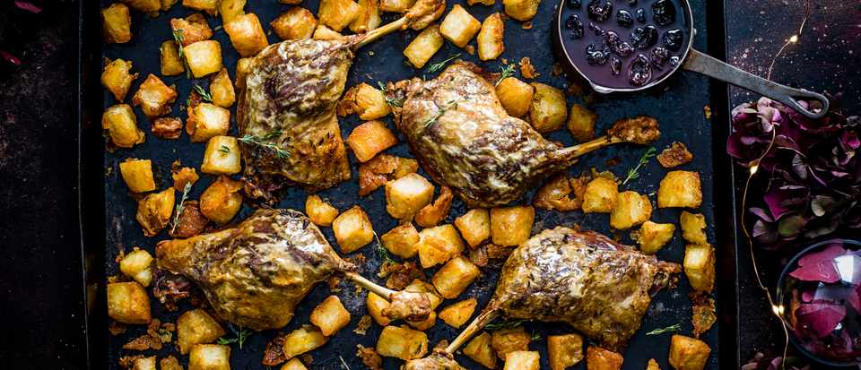 Duck Leg Recipes with Potatoes