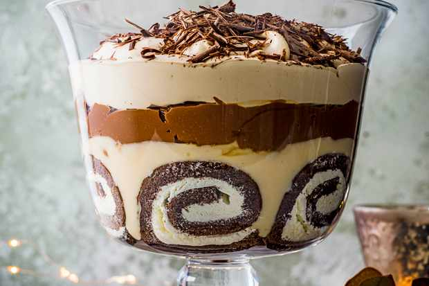 Tiramisu Trifle Recipe with Baileys