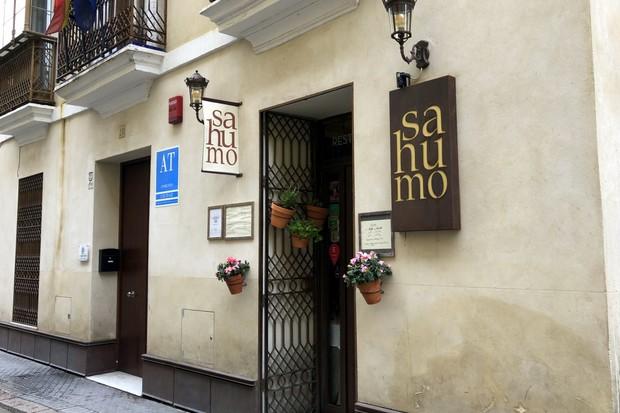Exterior of Sahumo Seville