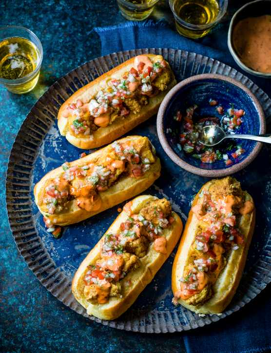 Hot Dogs Recipe with Cod