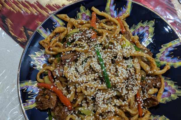 Handmade noodles are a highlight at Etles