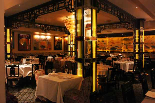 China Tang's lavish interior