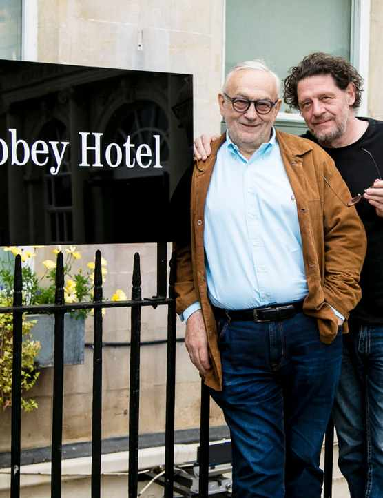 Pierre Koffmann and Marco Pierre White's, Bath: Restaurant Review