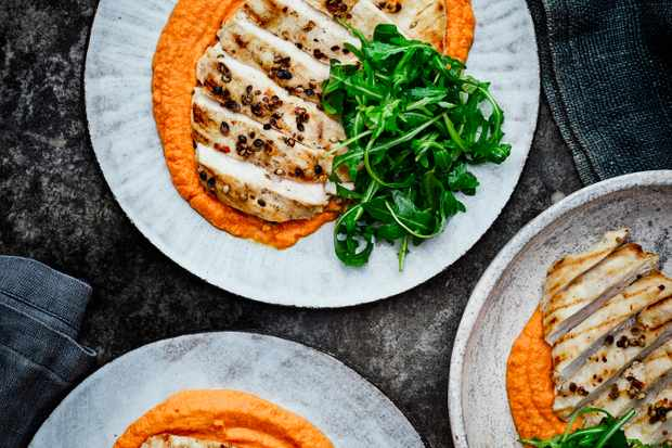 Chicken and Hummus Recipe