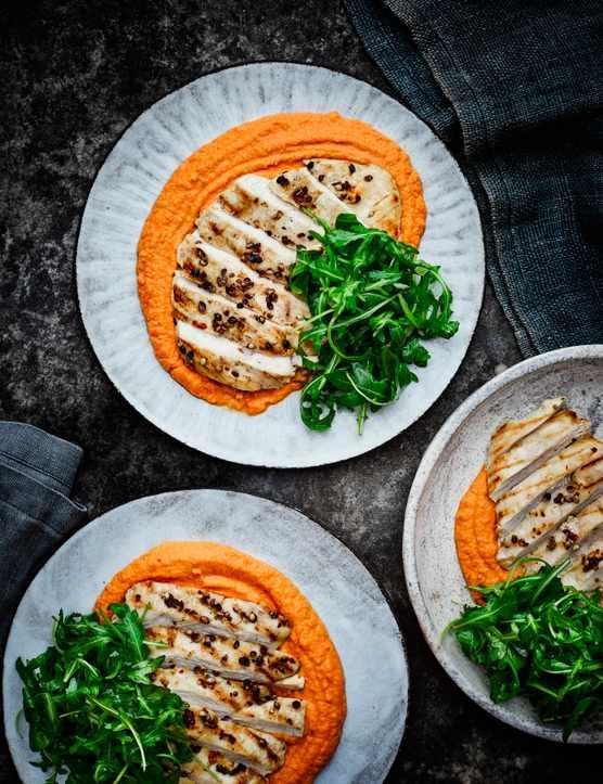 Chicken and Hummus Recipe