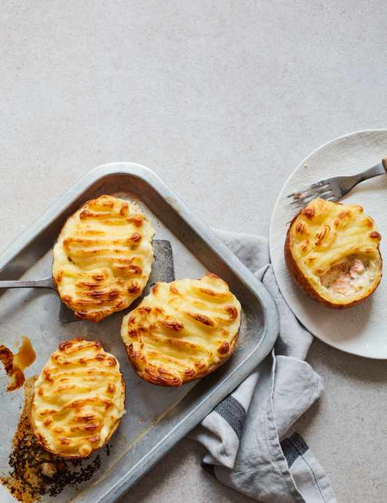 Fish Pie Recipe In Jacket Potatoes