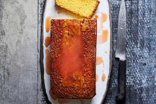 Orange Polenta Cake Recipe
