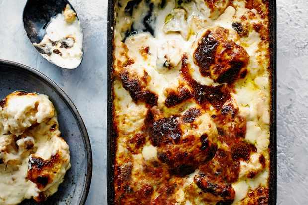 Cauliflower Cheese Bake Recipe