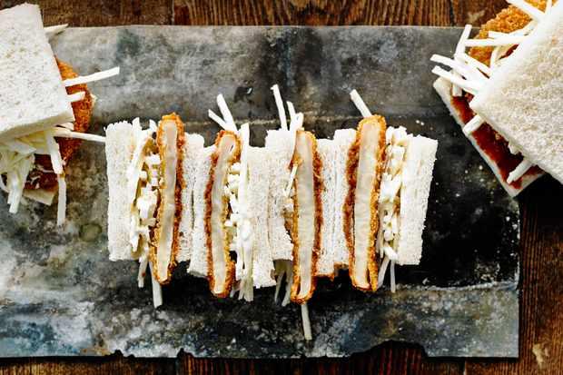 Vegetarian Katsu Sando Recipe with Celeriac
