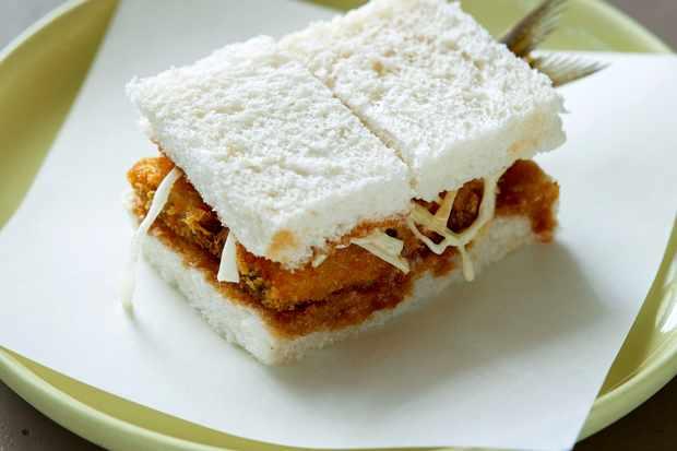 Katsu Sandwich Recipe with Sardines