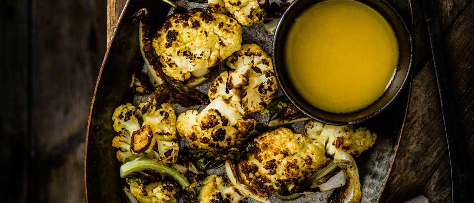 Cauliflower Recipe with Beer Butter Sauce
