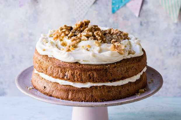 Coffee and Walnut Cake Recipe with Chocolate