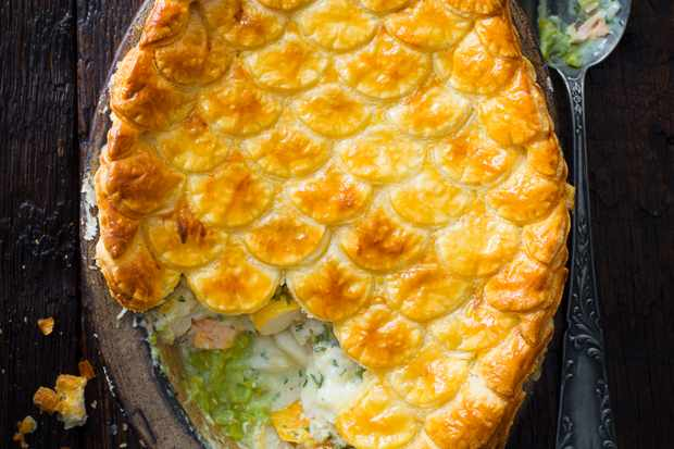 Best Fish Pie Recipe with Mushy Peas