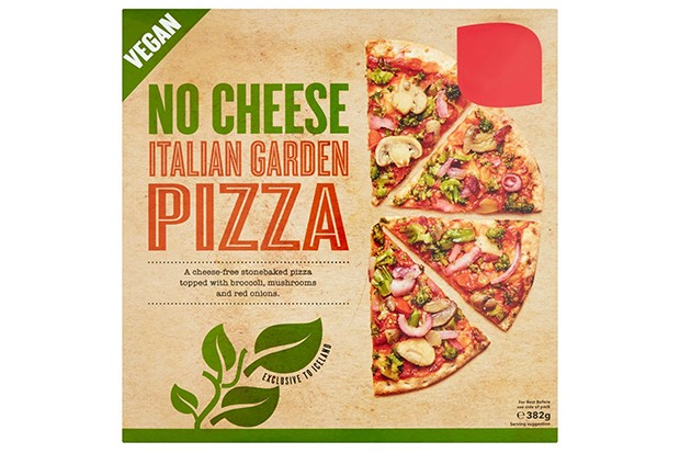 Iceland Vegan No Cheese Italian Garden Pizza