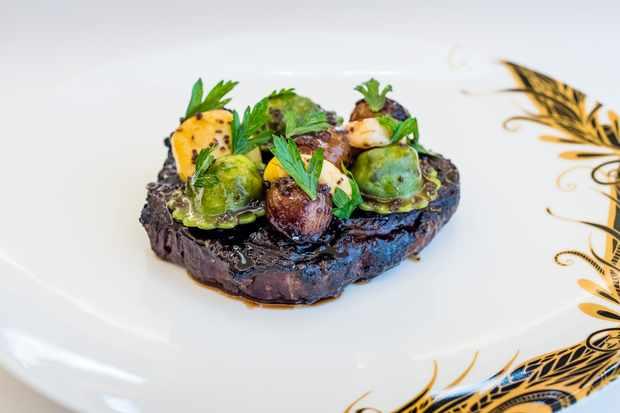 Ribeye steak at The Baptist