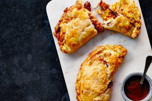 Breakfast Pasties Recipe