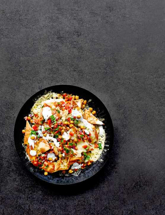 Indian Nachos Recipe