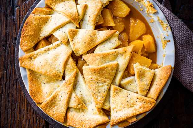 Pineapple Pie Recipe with Rum