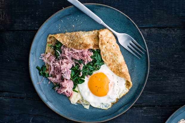 ham and spinach