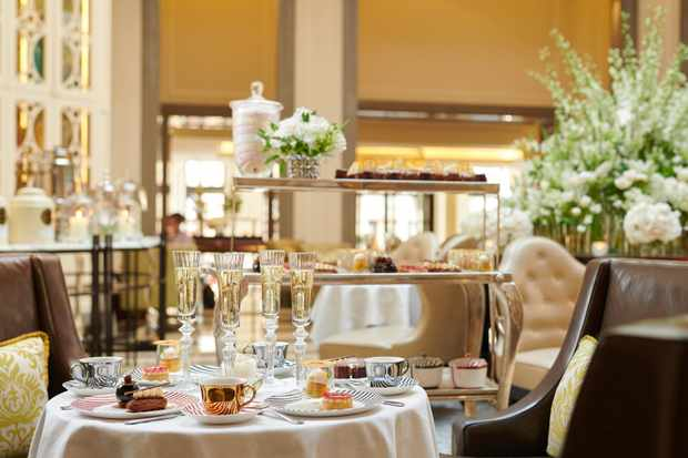 The Corinthia Hotel, afternoon tea