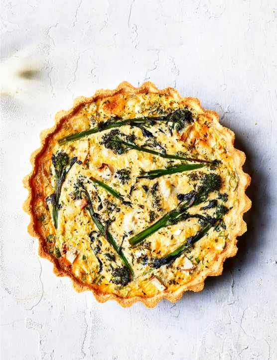 Goats Cheese Tart Recipe For Broccoli Quiche