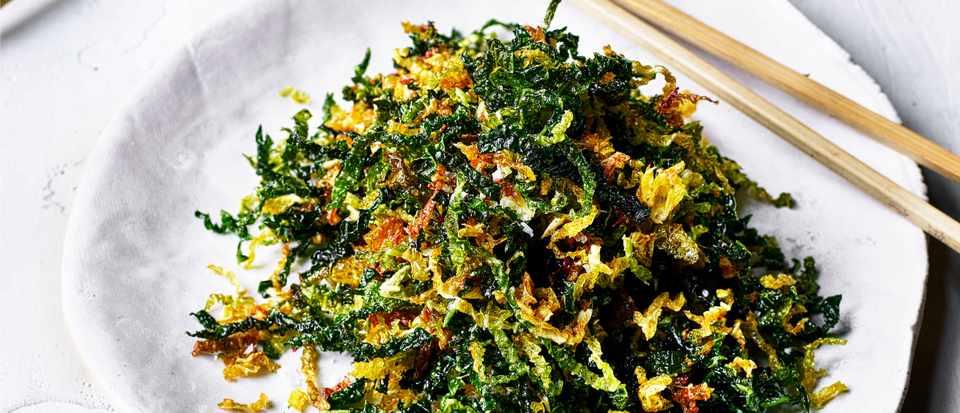Crispy Fried Cabbage Recipe For Crispy Seaweed Olivemagazine