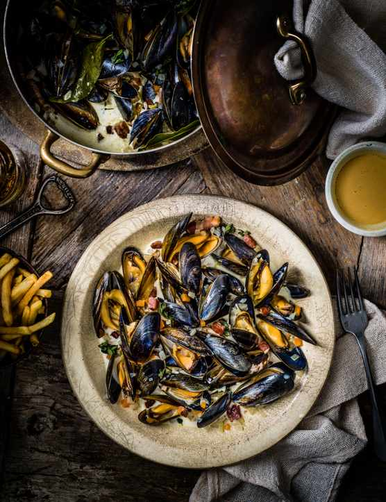 Belgian Beer Mussels Recipe