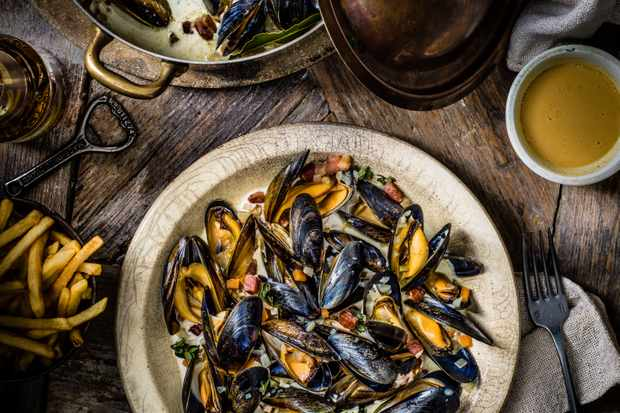 Belgian Beer Mussels Recipe