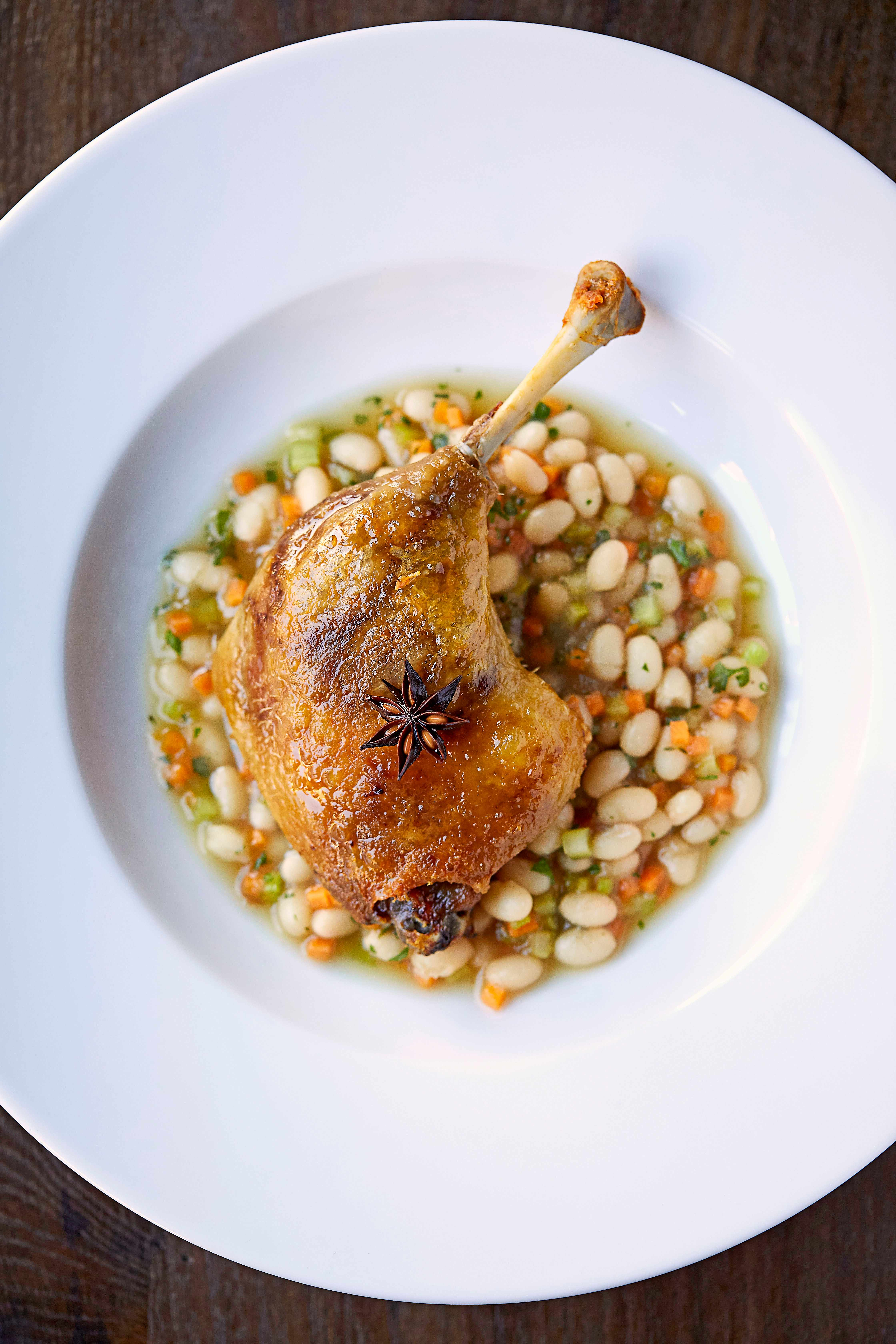 Confit Duck Leg Recipe with Duck Sauce